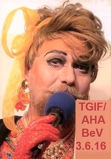 "BeV & <b>Gaby Tupper</b> zeigen: Homorap im Tempodrom, CSD 1989 & ""Berliner"" SFB ... - BeV_AHA_TGIF_c"